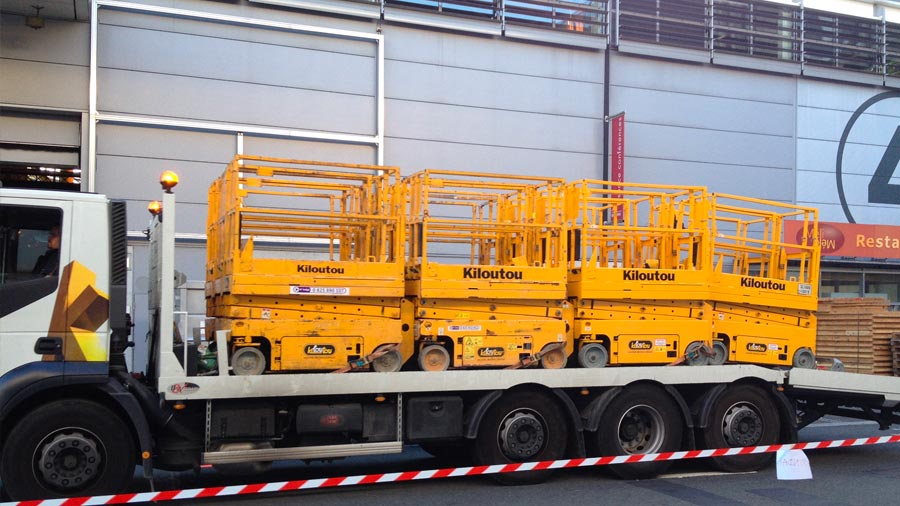 Location solution transport KILOUTOU